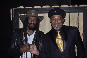 Reggae Artists Ras Karby and King Banton